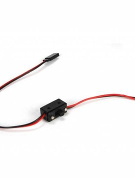 Losi LOSB0897 HD On/Off Switch w/20AWG Wre&Gld PlatedPlugs5IVE-T