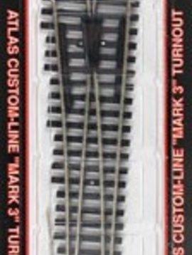 ATL 283 Code 100 #6 Turnout LH N/S Mk4 HO