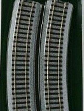 4 Kato KAT2280 HO 370mm 14-9//16 Radius Curve 22.5 Degree