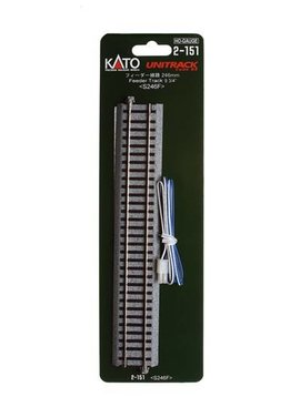 "Kato KAT2151 HO 246mm 9-3/4"" Straight Feeder"