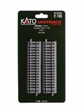 "Kato KAT2193 HO 149mm 5-7/8"" Straight (2)"