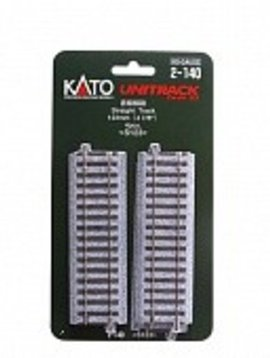 "Kato KAT2140 HO 123mm 4-7/8"" Straight (4)"