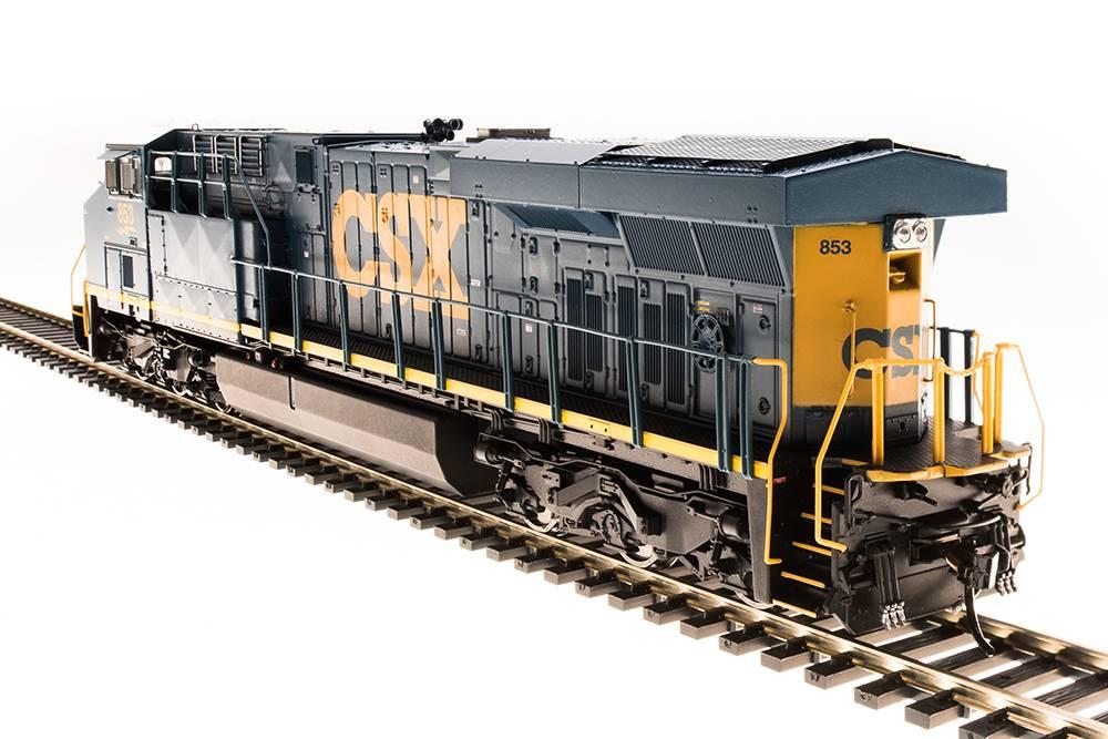 5482 GE ES44AC, CSX 853, YN3 Scheme, Paragon3 Sound/DC/DCC, Smoke, HO