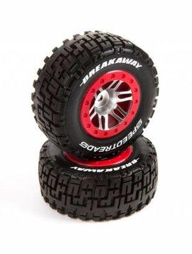 Dynamite DYN5117 SpeedTreads Breakaway SC Tire MNTD:SLHR,4X4FR,ECX
