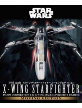 Bandai BAN196419 1/48 X-Wing Starfighter Moving Edition