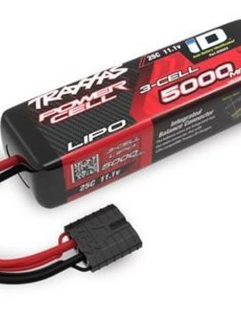TRA TRA2832X  5000mAh Power Cell 11.1v Lipo Battery Pack, 25c (short stm,rus, bandit)