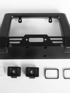 RC4 Pawn Metal Front Bumper with Lights: TRX-4 (RC4VVVC0450)