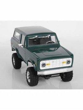 RC4WD 1/18 Gelande II Truck Brushed RTR, BlackJack Body (RC4ZRTR0036)