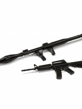INT Realistic Scale Rifle & Rocket Launcher Set, 1/10