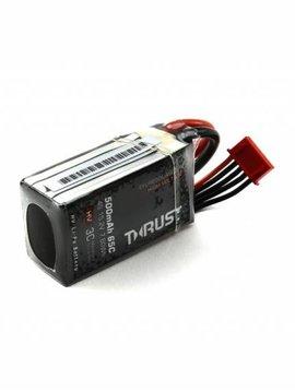 E-flite EFLB5004S65HV Thrust FPV 500mAh 4S 65C HV LiPo Battery