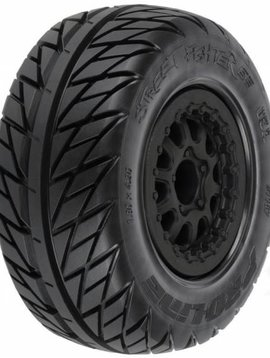 Proline PRO116717 Street Fighter Mnt Renegade Blk Wheel:SLH 4x4 (2)