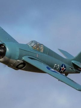 Parkzone PKZ1950 F4F Wildcat 1.0m BNF Basic with AS3X and SAFE Select