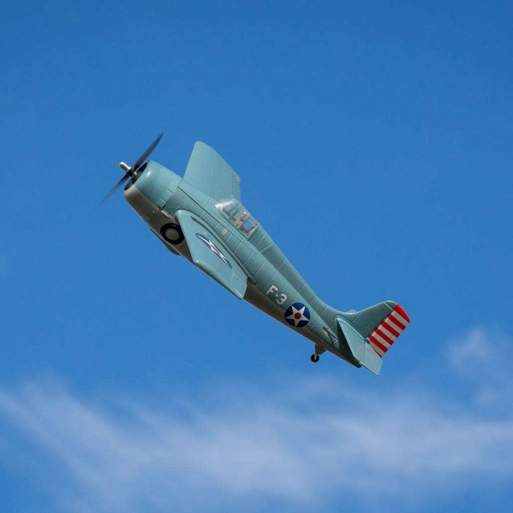 PKZ1950 F4F Wildcat 1 0m BNF Basic with AS3X and SAFE Select