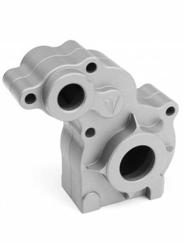 vanquish Aluminum Transmission Housing, Clear Anodized: SCX10 (VPS01183)