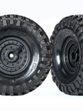 Traxxas TRA8273 TRX 4 Tactical Wheels, Canyon Trail 1.9 Tires (2) Assembled & Glued