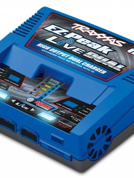 Traxxas TRA2973  EZ Peak Live Dual High Output Dual Charger
