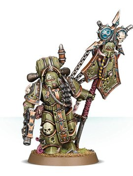 Citadel Death Guard Plague Marine Icon Bearer 43-47 40k