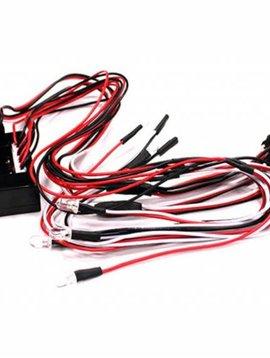 Integy INTC23601 Complete LED Light System 1/10 w/Control Box (8)
