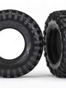 Traxxas TRA8270- Tires, Canyon Trail 1.9/ foam inserts (2)