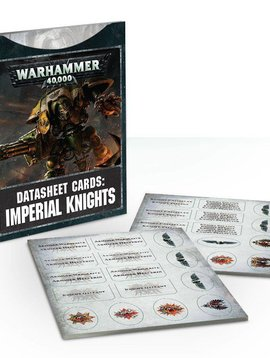 Citadel Data Cards : Imperial Knights