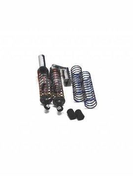Integy MSR9 Rear Piggyback Shock, Silver (2): ST, SLH (INTT7964S)