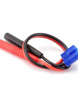 Dynamite DYNC0066 Insulated Charge Adapter: Banana to EC3 Device