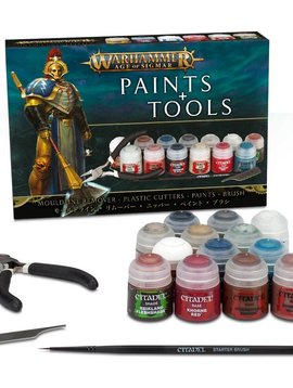 Citadel Age of Sigmar Paints & Tools Set 80-17-60