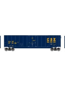 RND HO 50' Plug Door Smooth Side Box, CSX 475168