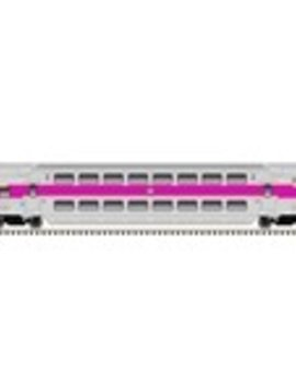 atlas 4836 HO MULTI-LEVEL COMMUTER CAB CAR MBTA #1800