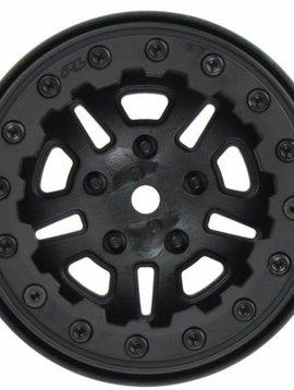 Proline PRO2756-15 FaultLine 2.2  Blk/Blk Bead-Loc 10 Spoke :Crawler