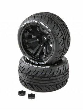 Dynamite DYNW0020 Speedhawk (Speedtreads) 1/10 ST/MT Tires MNTD (2)