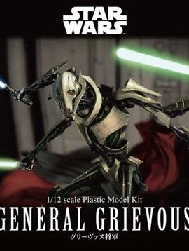 BAN BAN216743 1/12 General Grievous Star Wars Plastic Model Kit
