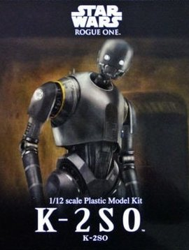 BAN BAN209433 1/12 Scale K-2S0 Star Wars Plastic Model Kit