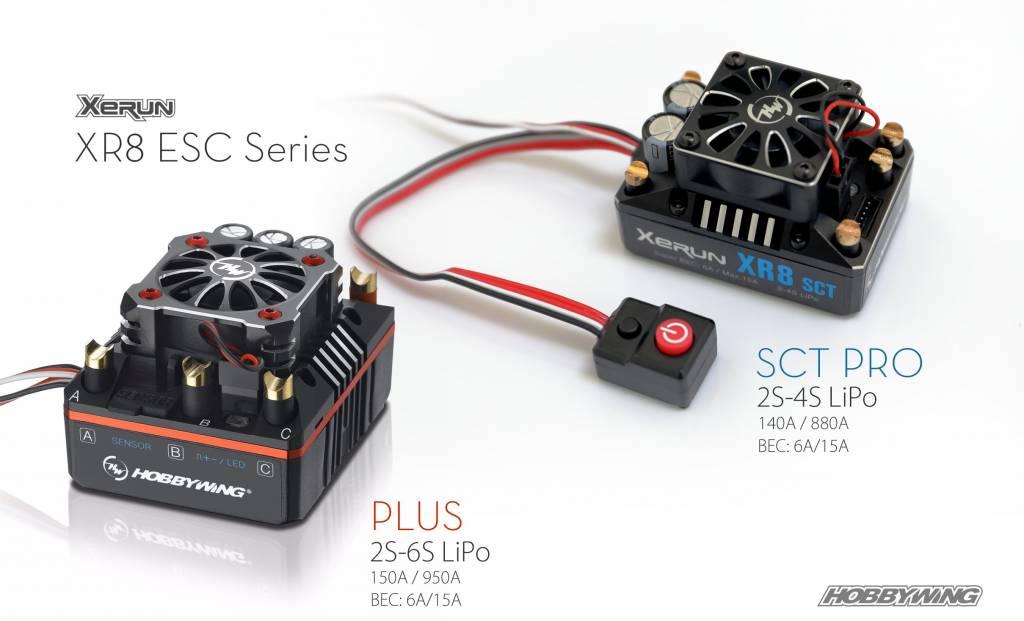 Hobbywing XR8 SCT Pro ESC Combo