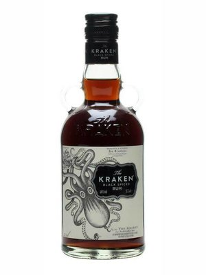 The Kraken Rum Black Spiced 70 Proof (50ml)
