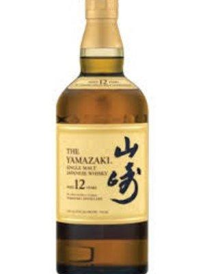 The Yamazaki 12 Year Single Malt Japanese Whisky, Japan (750ml)
