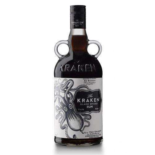 The Kraken Rum Black Spiced 94 Proof (750ml)