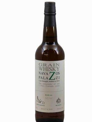 Navazos-Palazzi Grain Whisky 'Cask Strength' 'Palo Cortado Casks' 2016, Jerez, Spain (750ml)