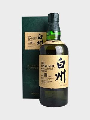 The Hakushu Single Malt Whiskey 18 year, Japan (750ml)