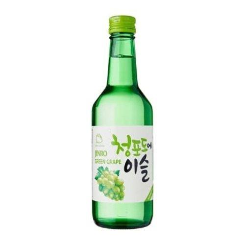 Jinro Jinro Chamisul Green Grape Soju, Seoul Korea (375ml)