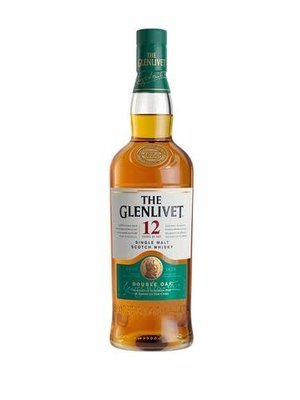 The Glenlivet 12 year Single Malt Scotch Double Oak, Scotland (375ml)