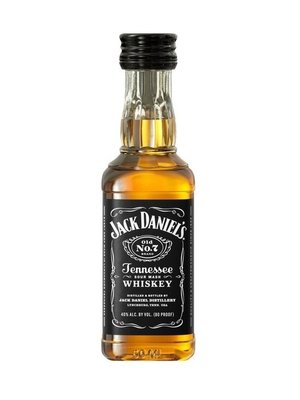 Jack Daniel's Sour Mash Whiskey Black Label 'Old No. 7', Lynchburg, Tennessee (50ml)