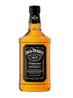 Jack Daniel's Sour Mash Whiskey Black Label 'Old No. 7', Lynchburg, Tennessee (375ml)
