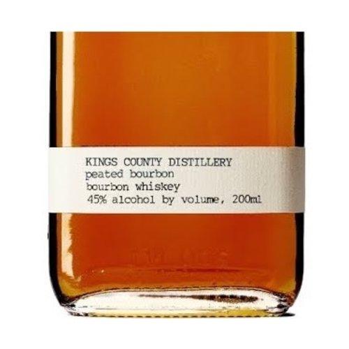 Kings County Distillery  PEATED Bourbon', Brooklyn, New York (200ml)