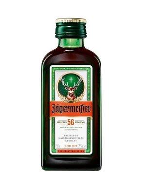Jagermeister Herbal Liqueur, Wolfenbuttel, Germany (50ml)