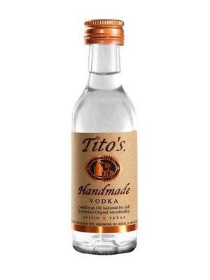 Tito's Vodka 'Handmade', Austin, Texas (50ml)
