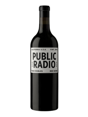 Grounded Wine Co, Public Radio Red 2017, Paso Robles, CA (750ml)