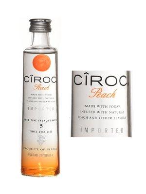 """Ciroc Vodka 'Peach"""", France (50ml)"""
