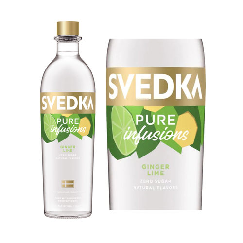 Svedka Pure Infusions Ginger Lime, Bardstown, KY (750ml)
