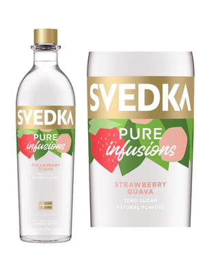 Svedka Vodka Pure Infusions Strawberry Guava, Bardstown, KY (750ml)